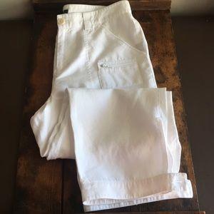 Ralph Lauren 100% linen capri pants